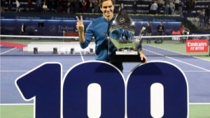Roger Federer Wins 100th ATP Title In Dubai With Victory Over Stefanos Tsitsipas