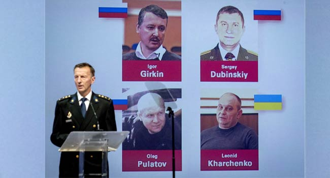 Four Suspects To Be Arrested For Shooting Down Flight MH17