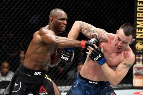 Nigeria's Kamaru Usman Retains UFC Welterweight Title