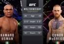 MMA Prez Shuts Down Nigeria Hero Kamaru Usman vs. Conor McGregor Talk
