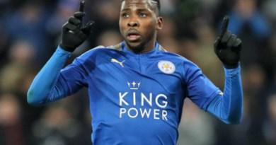 Europa: Iheanacho scores twice as Leicester thrash Braga 4-0