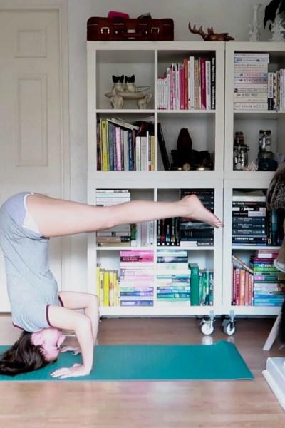 Yoga journal: My first yoga class