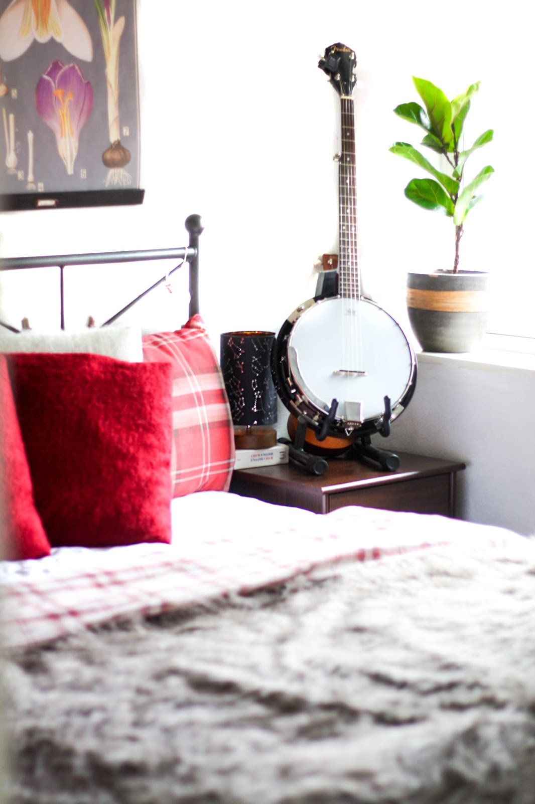 5 ingredients for a cosy bedroom