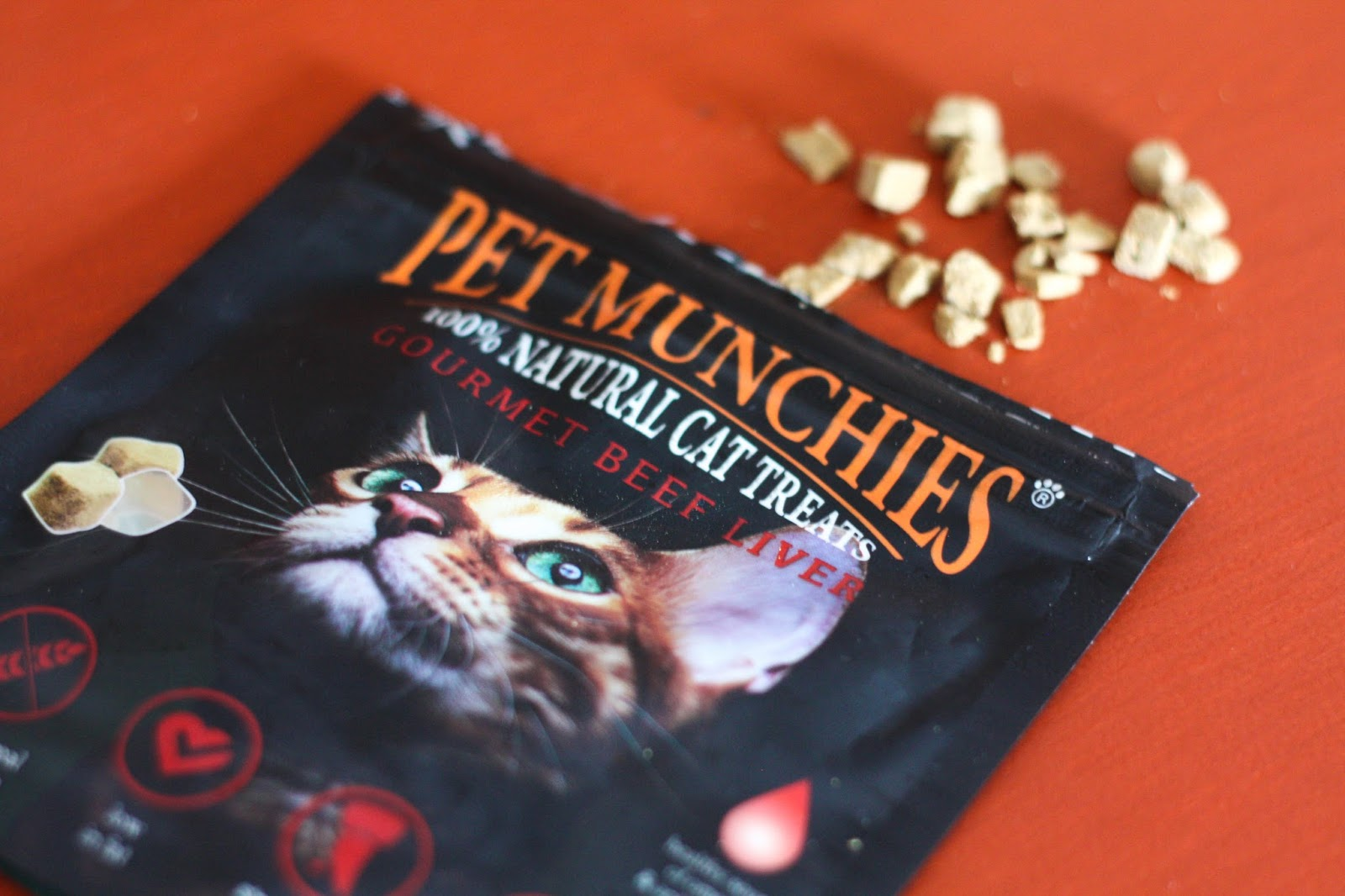Feline Foodology: Gourmet beef liver treats by Pet Munchies