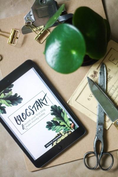 BLOGSTART: Launch your first blog & make money today