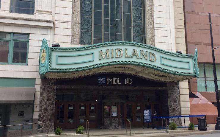 Midland Theater entrance