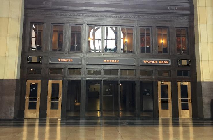 Union Station Amtrak entrance