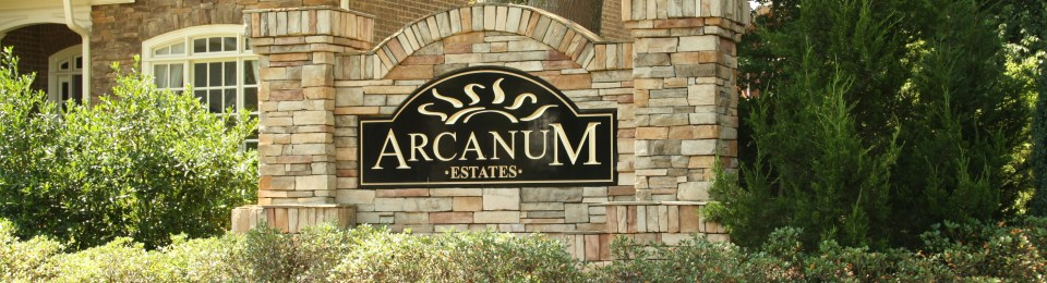 Subdivision In Cumming GA Arcanum Estate