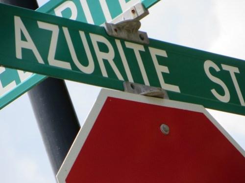 Azurite Street Into Fieldstone Glen