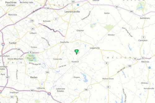 Map Location Of Fall Creek Subdivision