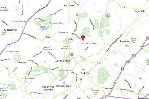Weston Georgia Map Location