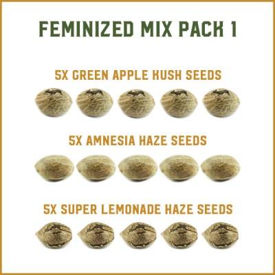 Feminized Mixed Packs
