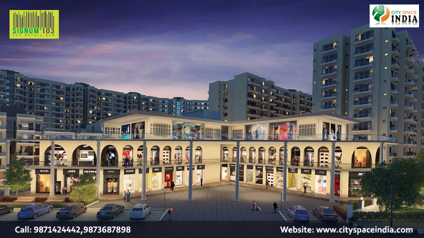Signature Global Signum 103 Commercial Retail Shops Dwarka Expressway, Gurgaon