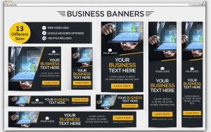 CitySpotz-Business Ad Banner Set