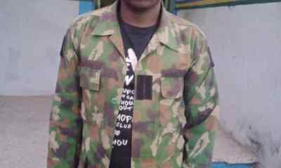 Robber in Army Uniform