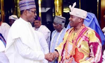Oluwo of Iwo and Buhari