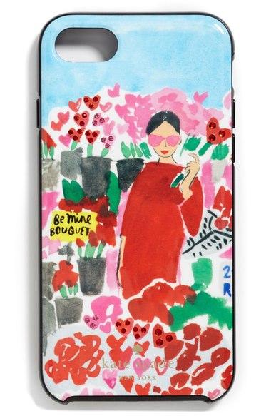 KATE SPADE crystal floral bella iPhone case
