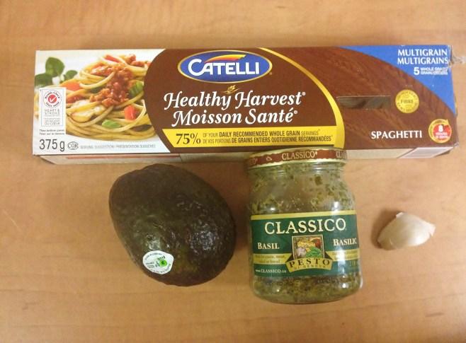 Healthy Avocado Pesto Pasta