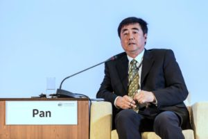An Pan presents on the final day of the ICLEI World Congress 2015.