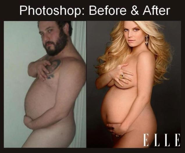 Jessica Simpson Before and After