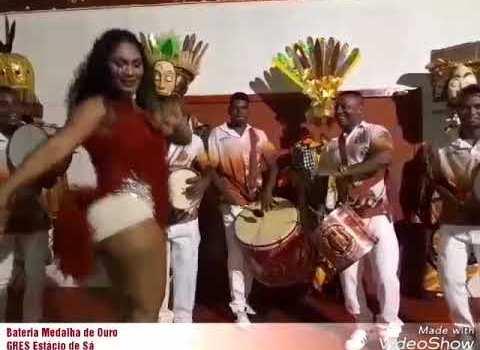 Passeio na quadra da Estácio de Sá primeira Escola de Samba do Brasil.