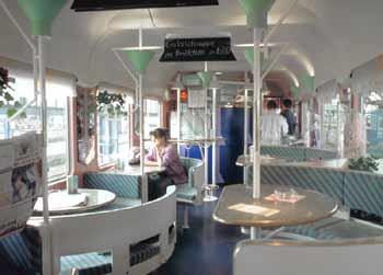 Passenger Train Variations On Train Refreshment