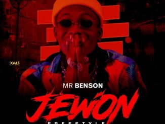 Mr Benson – Jewon Freestyle