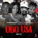 Download DJ Mayor Kay ft. Pinky Oreoluwa x Iju Tiger x Professional Beatz — Obo USA (Refix)