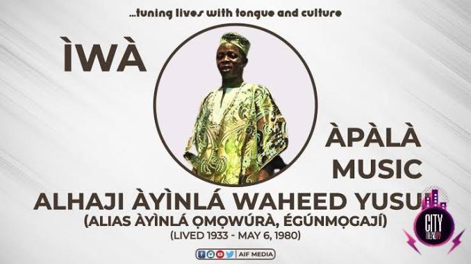 Ayinla Omowura — Iwa