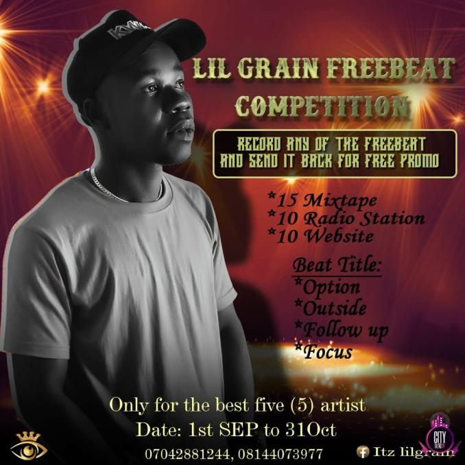 Lil Grain Freebeat Competition 4 Beats