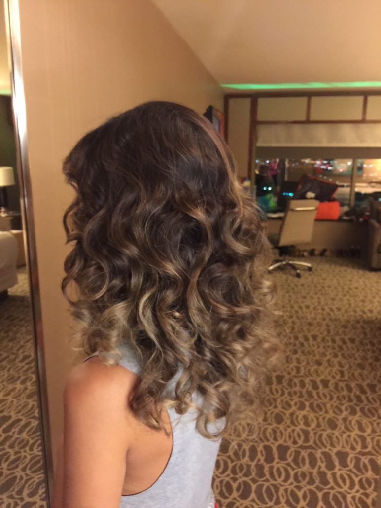 Professional Hair Blowout Las Vegas Spray Tan Services