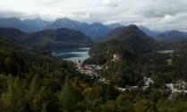Veduta del Castello di Hohenschwangau e del lago Alpsee. Foto di Angela Di Matteo