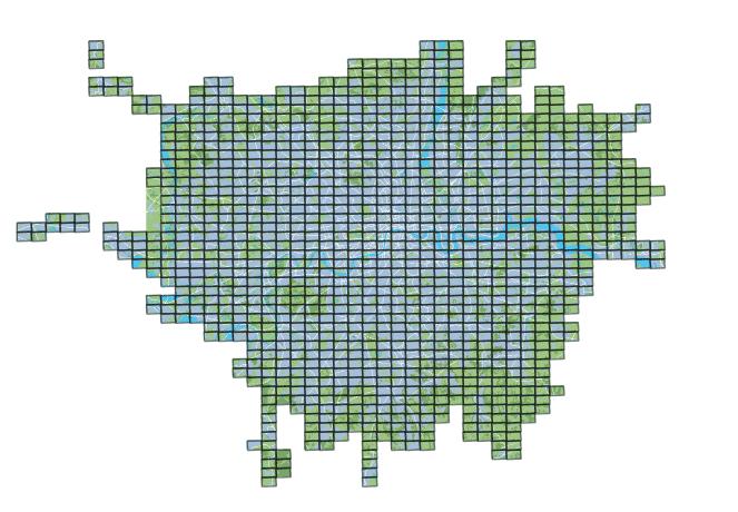 Legible London whole basemap