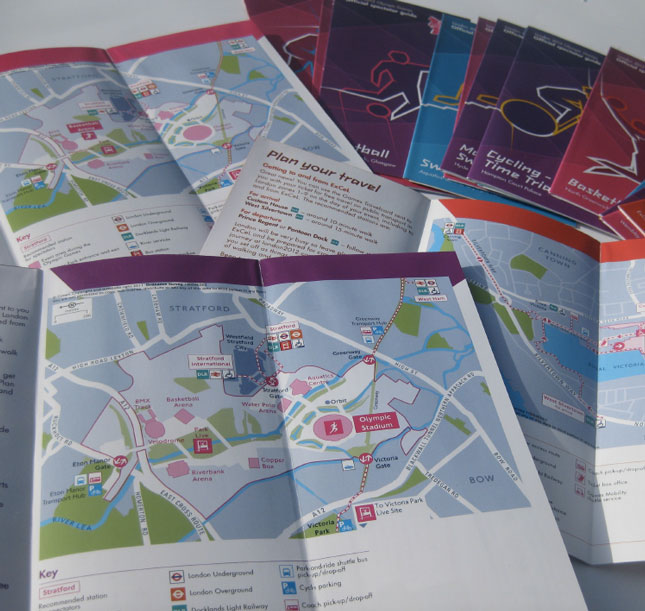 Wayfinding for the Olympic Games - City Wayfinding