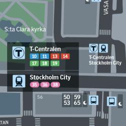 stockholm Wayfinding map symbols