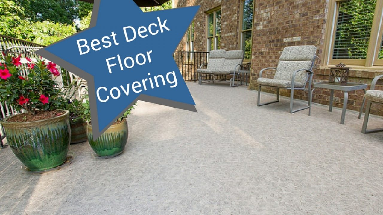 the best deck floor covering for bc