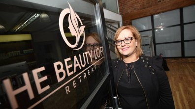 Kimberley Exton, owner of The Beauty Loft Retreat. Photo: Steve Smailes for Lincolnshire Business