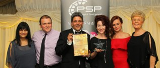 Winners of Customer Care Award The Woodlands Hotel