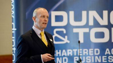 Nicholas Smith, Director and Head of Tax at Duncan & Toplis speaks at the Directors' Briefing 2016. Photo: Stuart Wilde Photography