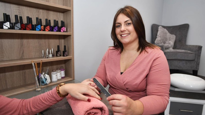 Owner, Amy Brook. Photo: Steve Smailes for Lincolnshire Business