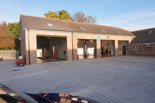 The company has expanded its current site on Five Mile Business Park in Washingborough