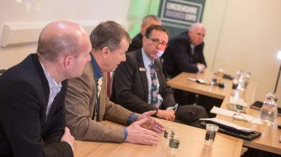 A panel of business leaders discusses Brexit and the challenges and opportunities for Lincolnshire. Photo: Steve Smailes for Lincolnshire Business
