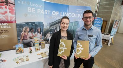 Visit Lincoln will be attending the trade show alongside other firms and councils. Photo: Steve Smailes for Lincolnshire Business