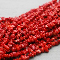 natural-stone-irregular-red-coral-broken-beads-loose-bracelet-ethnic-style-accessories-for-women-girls-ladies