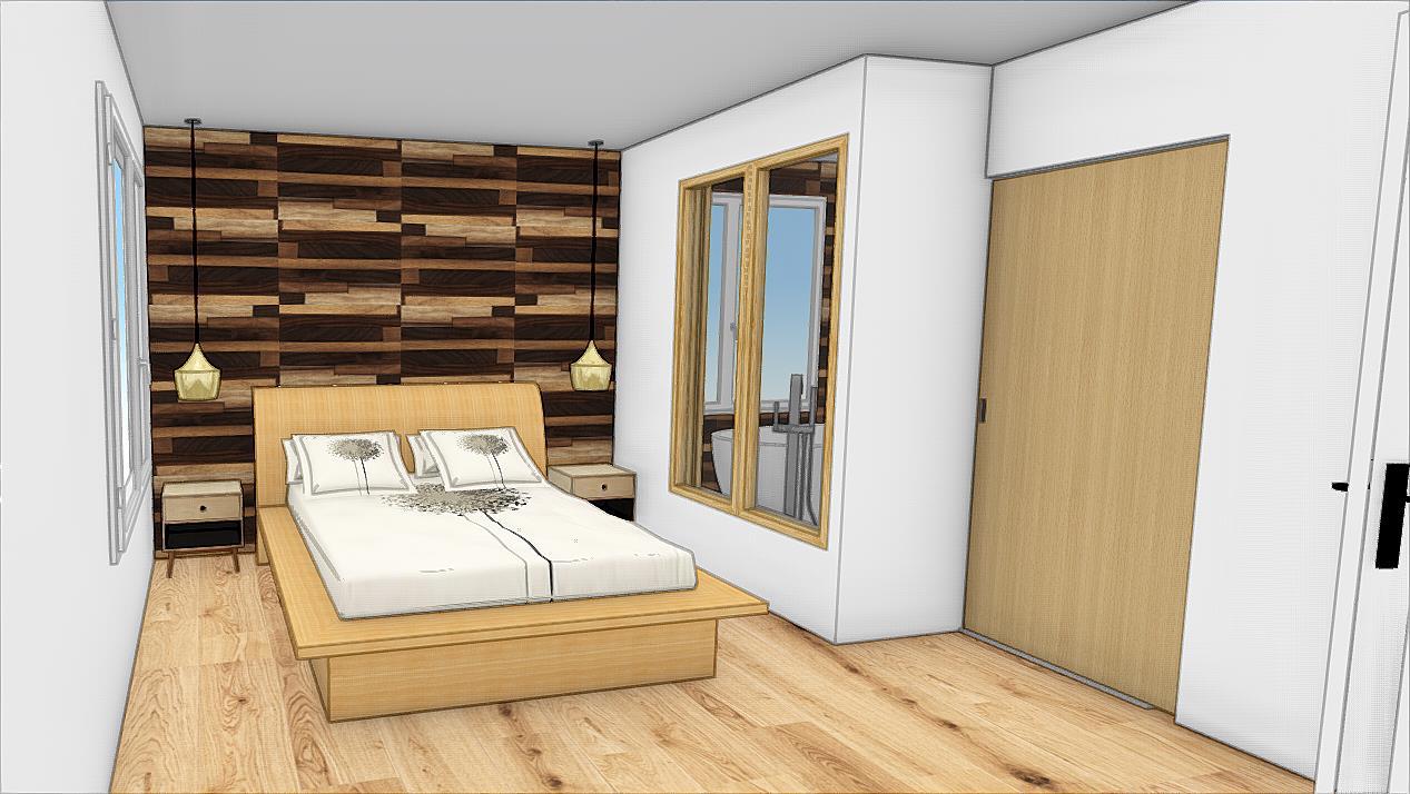 tete de lit nature delightful tete de lit rideau fabrication tete de lit en bois lit. Black Bedroom Furniture Sets. Home Design Ideas