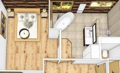 Une salle de bains nature & cocooning