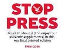 Requiem por el papel de los periódicos, futuro vestigio de bibliotecas