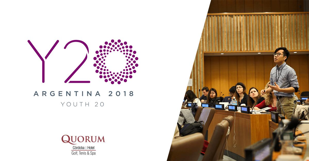 Quorum Córdoba Hotel será co-sede del Y20