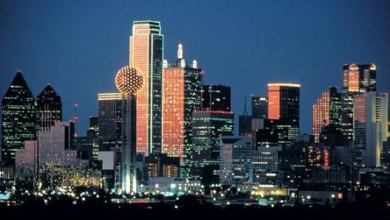 De visita a Dallas