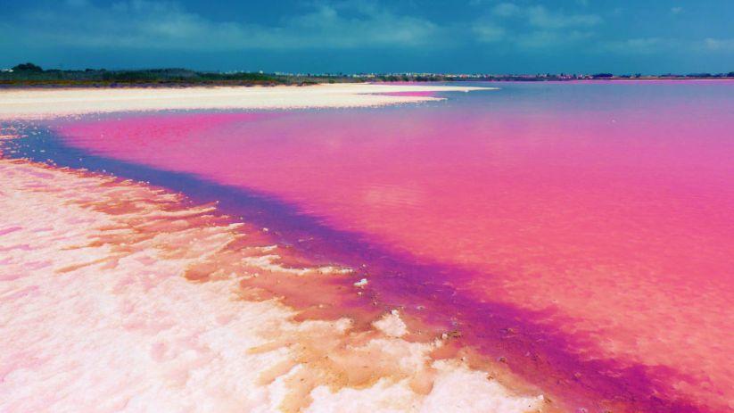 Lago rosado de Senegal o el peculiar lago Retba - Ciudades con Encanto